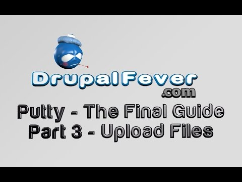 Putty Tutorial For Beginners - Part 3 of 3 - Uploading & Downloading files with Putty