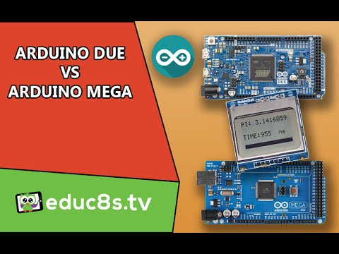 Arduino Due vs Arduino Mega 2560 Pi Benchmark DIY project from banggood.com