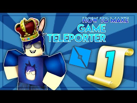 Roblox | How To Make Game Teleporter - Teleport Players Between Games In Roblox!!