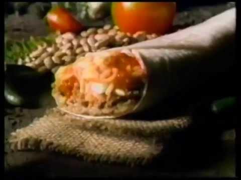 Congo Taco Bell Volcano Burrito commercial (1995)