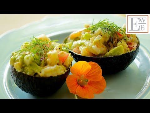 Beth's Avocado Shrimp Salad Recipe | ENTERTAINING WITH BETH