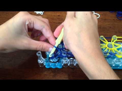 How to Make a Minion Starburst Loom Bracelet