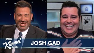 Josh Gad on Getting Naked for the Election \u0026 Reuniting Wayne's World Cast