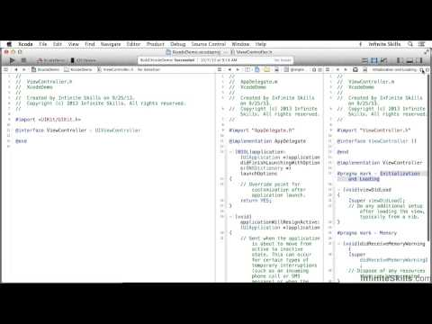 Objective-C Programming Tutorial | Working With The Assistant