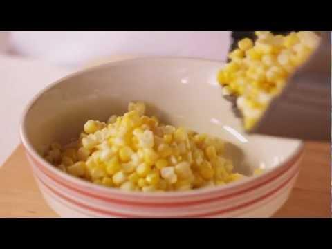 Easy Corn Recipe - How to Cut Corn off the Cob