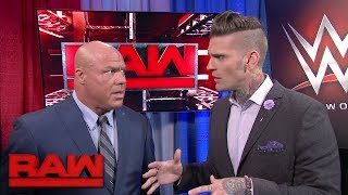 "Who called Raw GM Kurt Angle an ""embarrassment""?: Raw, May 29, 2017"