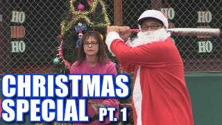 CHRISTMAS SPECIAL PART 1! | Offseason Softball League | Game 14