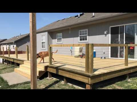 Large Deck Build with DIY Stainless Steel Cable Railings