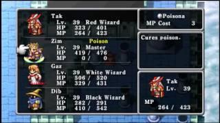 Final Fantasy PSP - Magic Exhibition (Exhibición de Magias)