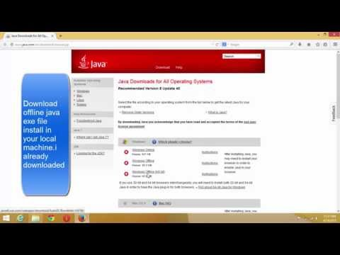 Extracting Java.MSI from Java.EXE for group policy deployment