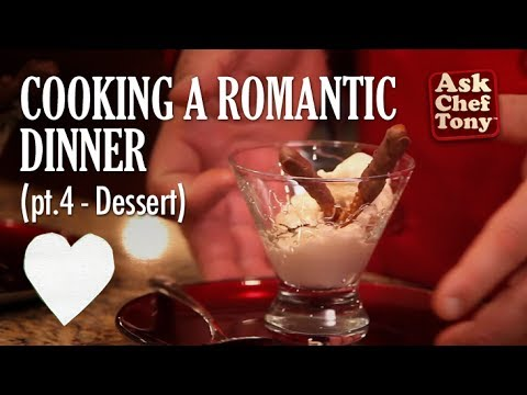 How to Cook a Romantic Dinner at Home, part 4 - Easy Dessert to Seal the Deal