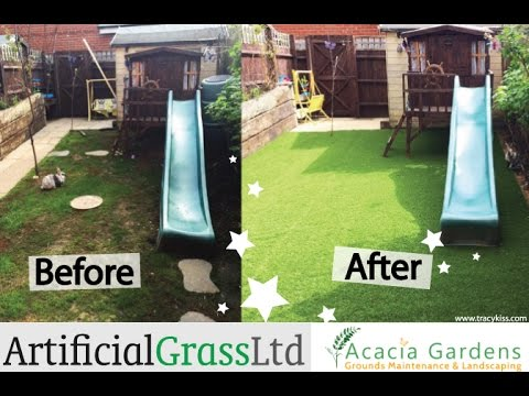 Lifestyle Elite Artificial Grass Garden Transformation