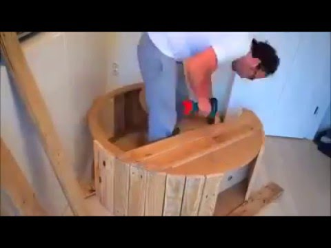 Pallet Moon Crib or Cradle Tutorial