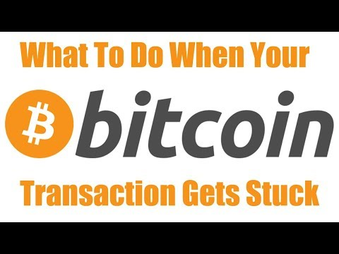 How To Unstick A Pending Bitcoin Transaction. Bitcoin Transaction Booster Accelerator