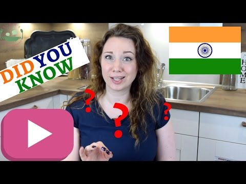 FOOD FACTS about India