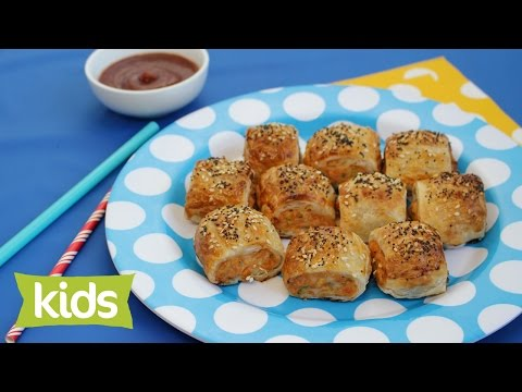 Party Sausage Roll Recipe with Chicken
