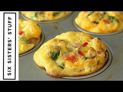 How to make Scrambled Egg Breakfast Muffins