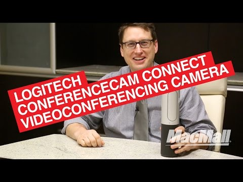Logitech ConferenceCam Connect – Silver – MacMall