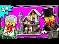 Lego City Winter Toy Shop 10249 Stop Motion Build Review