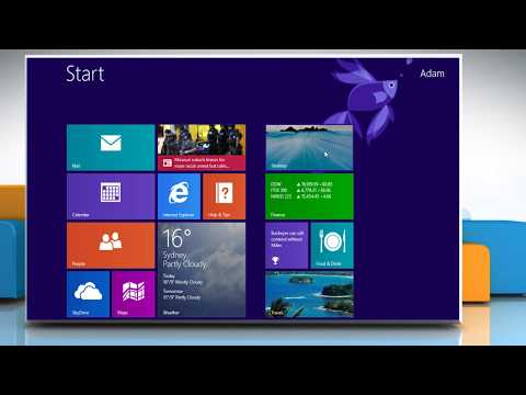 How to go straight to the desktop instead of the Start screen when you sign in on a Windows® 8.1 PC