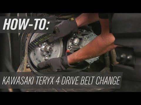 How To Change the Belt on a Kawasaki Teryx4