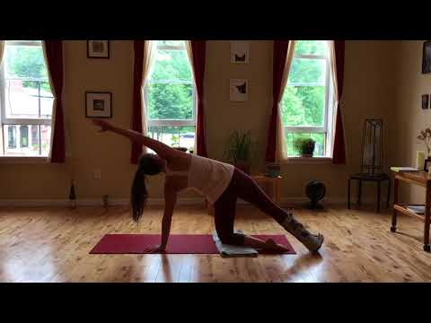 Yoga for A Broken Leg: 20 Minute Strength Building Routine