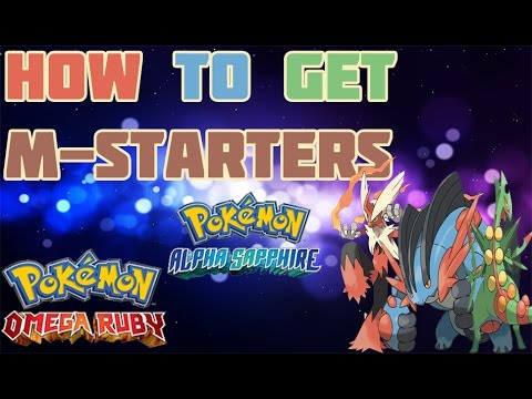 How to Get Mega Hoenn Starters in ORAS - Mega Stone Location Guide