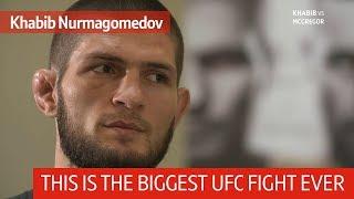 Khabib: I'll slap Conor McGregor while talking to Dana White through the cage