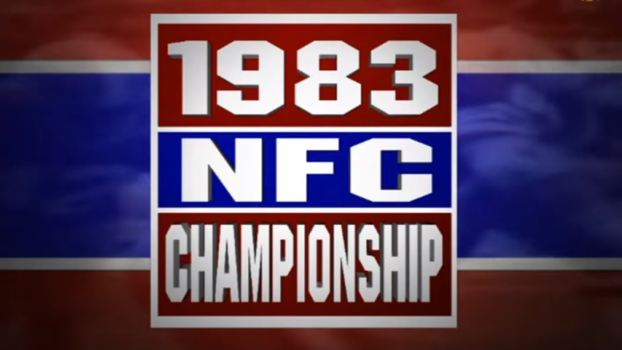 1983 NFC Championship: Washington Redskins vs San Francisco 49ers (1-8-84)   NFL's Greatest Games