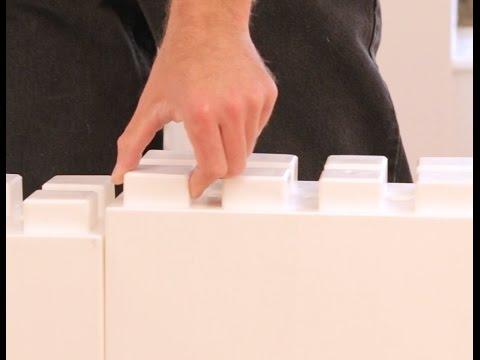 EverBlock Modular Wall System  - Building a Divider Wall