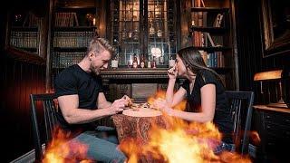Download Hot Ones Challenge VS My Brother! Video