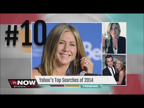 Ebola and video games top celebrities in Yahoo's most-searched list of 2014