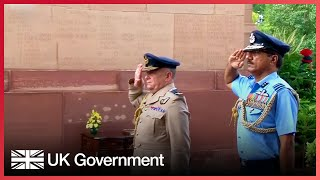 UK Chief of the Defence Staff visits India, 19 - 22 July 2017
