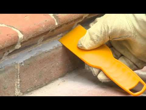 How to Repair and Tuckpoint Mortar with QUIKRETE® Mortar Joint Sealant