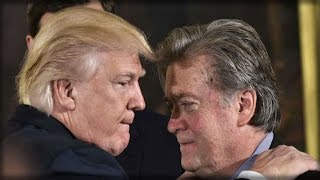 OH BOY! WHAT STEVE BANNON JUST TOLD THE PRESIDENT HAS ANTI-TRUMP REPUBLICANS SWEATING BULLETS!