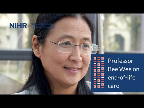 Professor Bee Wee - National Clinical Director for End of Life Care