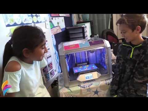 Minute Movies - Christine Tarver & 3D Printing