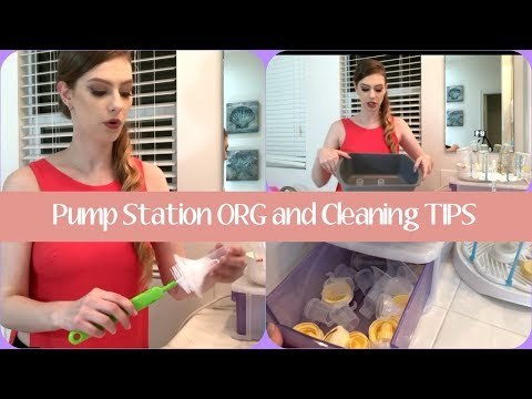 Hot to clean and sanitize pump parts (no boiling!)|Medela pump|