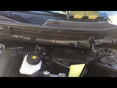 How to change the air filter on an 2014 Nissan Rogue DIY EASY Save $