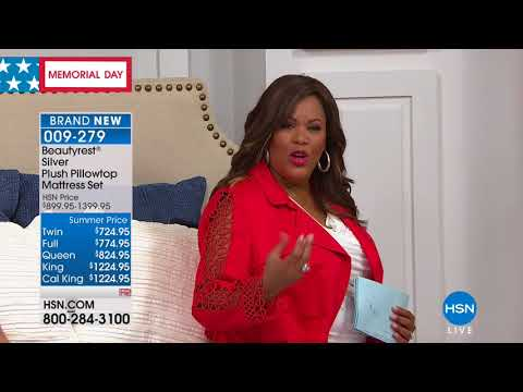 HSN | Beautyrest Mattresses 05.28.2018 - 02 AM