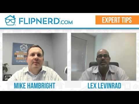 Lex Levinrad's Tip on Making Offers on Bank Owned Properties