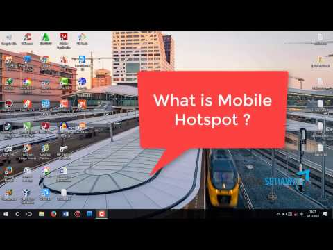 How To Set Up and Use Mobile Hotspot Windows 10
