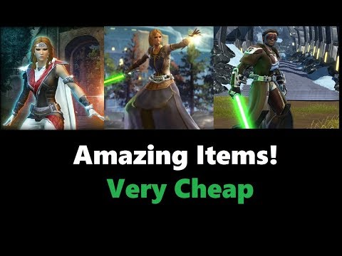 SWTOR: Best Items For Jedi Under 1 Million Credits (2018)