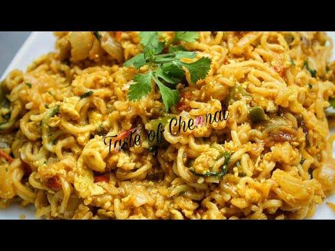 Egg Maggi Noodles Recipe in Tamil   Egg Maggi Masala Noodles      Street Style Egg Maggi Masala