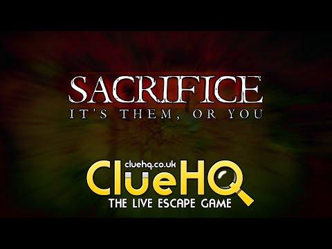 Sacrifice - Clue HQ - The Live Escape Game