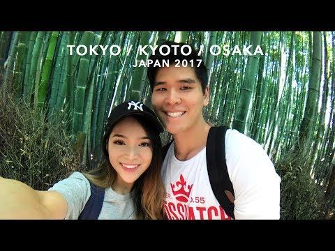 🌈🇯🇵TOKYO/KYOTO/OSAKA IN 10 DAYS✨ | GoPro Hero 5 Session📸