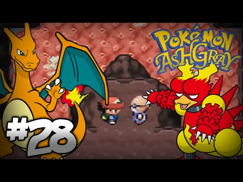Let's Play Pokemon: Ash Gray - Part 28 - Cinnabar Gym Leader Blaine