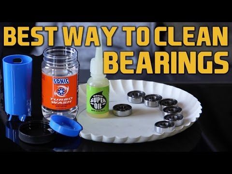 Sonic Turbo Wash & Super Oil Review - Best way to clean and grease skate bearings