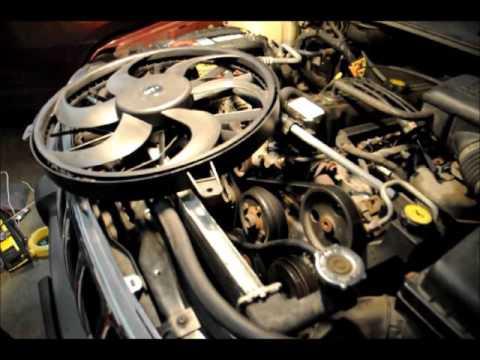 1999-2004 Jeep Grand Cherokee WJ - Replace Radiator Cooling Fan
