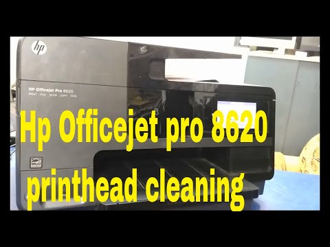 Hp Officejet 8620 printhead cleaning